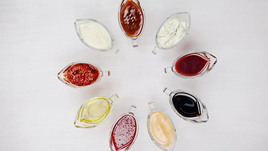 Vegan sauces and dressings at Red Lobster