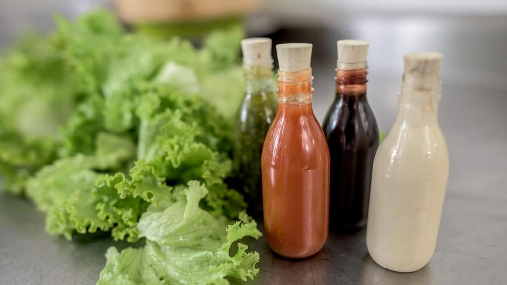 Red Robin vegan salad dressings